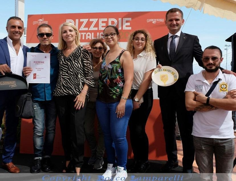 "TRE SPICCHI SU ""PIZZERIE D'ITALIA 2020"""