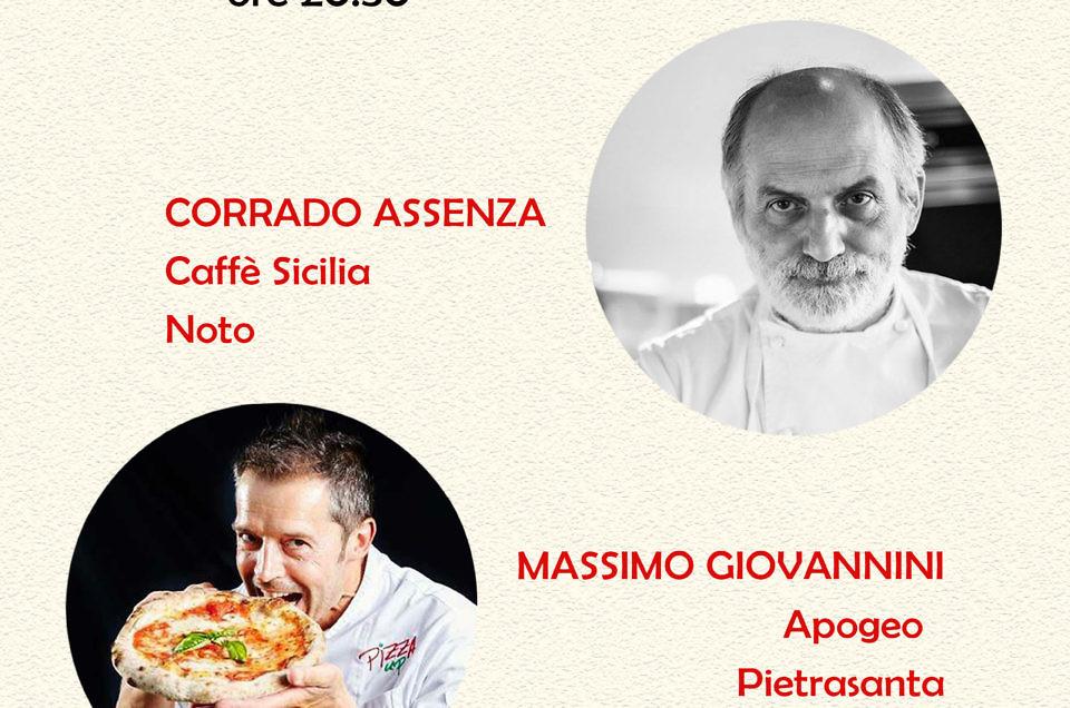 #oltrelapizza: il 19 marzo torna Corrado Assenza
